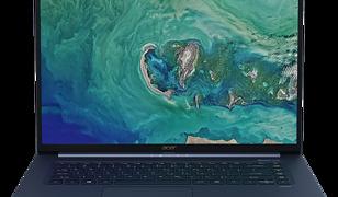 IFA 2018. Nowy Acer Swift 5 to najlżejszy, 15-calowy laptop