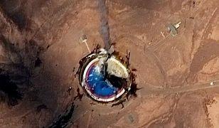 Irańska rakieta wybuchła podczas startu