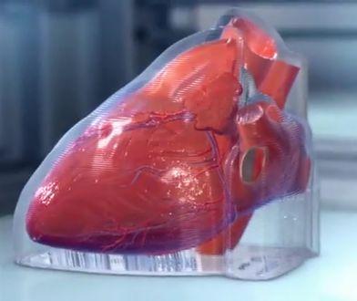 Mini serca wydrukowane w technologii 3D.