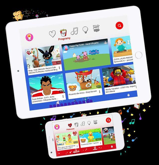 YouTube Kids to aplikacja dla dzieci