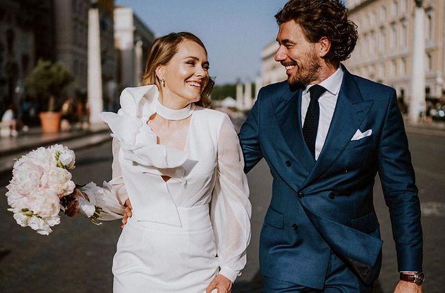Lamparska wzięła ślub w Watykanie