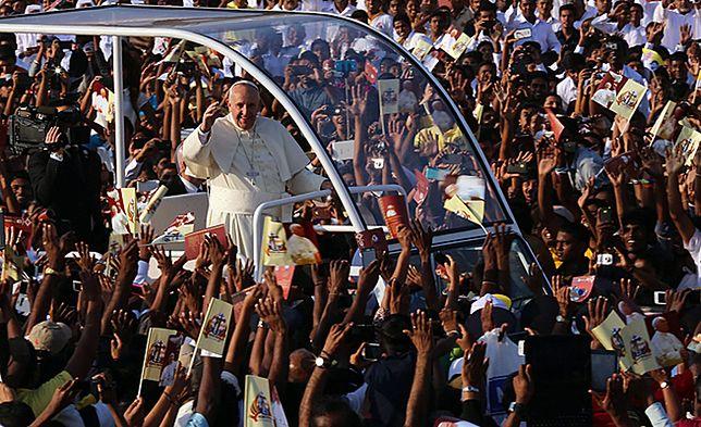 Papież Franciszek w Kolombo