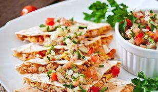 Quesadillas - pomysł na obiad lub przekąskę