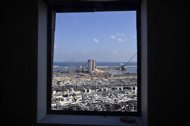 Zniszczenia w Bejrucie są ogromne. Na miejscu pomagają polscy ratownicy