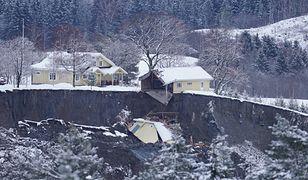 Norwegia. Osuwisko w Ask. Dzieci wśród zaginionych po osunięciu się ziemi