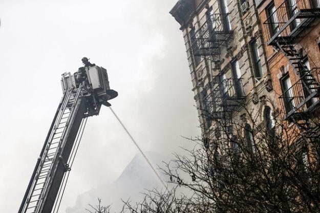 Do zdarzenia doszło w East Village na Manhattanie