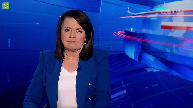 """Danuta Holecka jest szefową """"Wiadomości"""""""