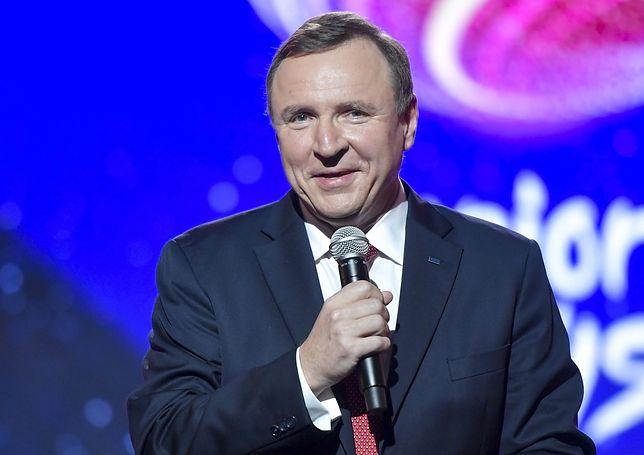 Prezes TVP Jacek Kurski jest zadowolony z wyników oglądalności stacji.