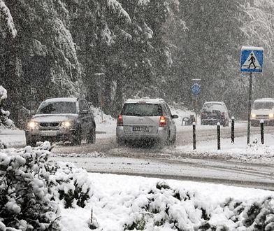 Zima w Zakopanem 12 października