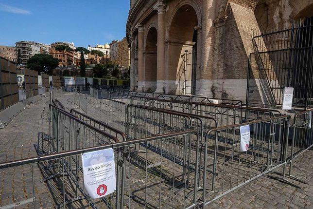 Nie wiadomo, czy jeszcze kiedyś zobaczymy takie pustki w Koloseum