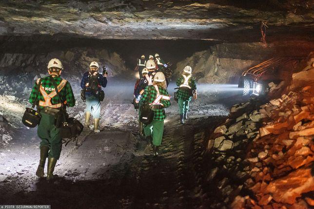 Polkowice-Sieroszowice na Dolnym Śląsku. W kopalni miedzi doszło do niekontrolowanego ruchu górotworu
