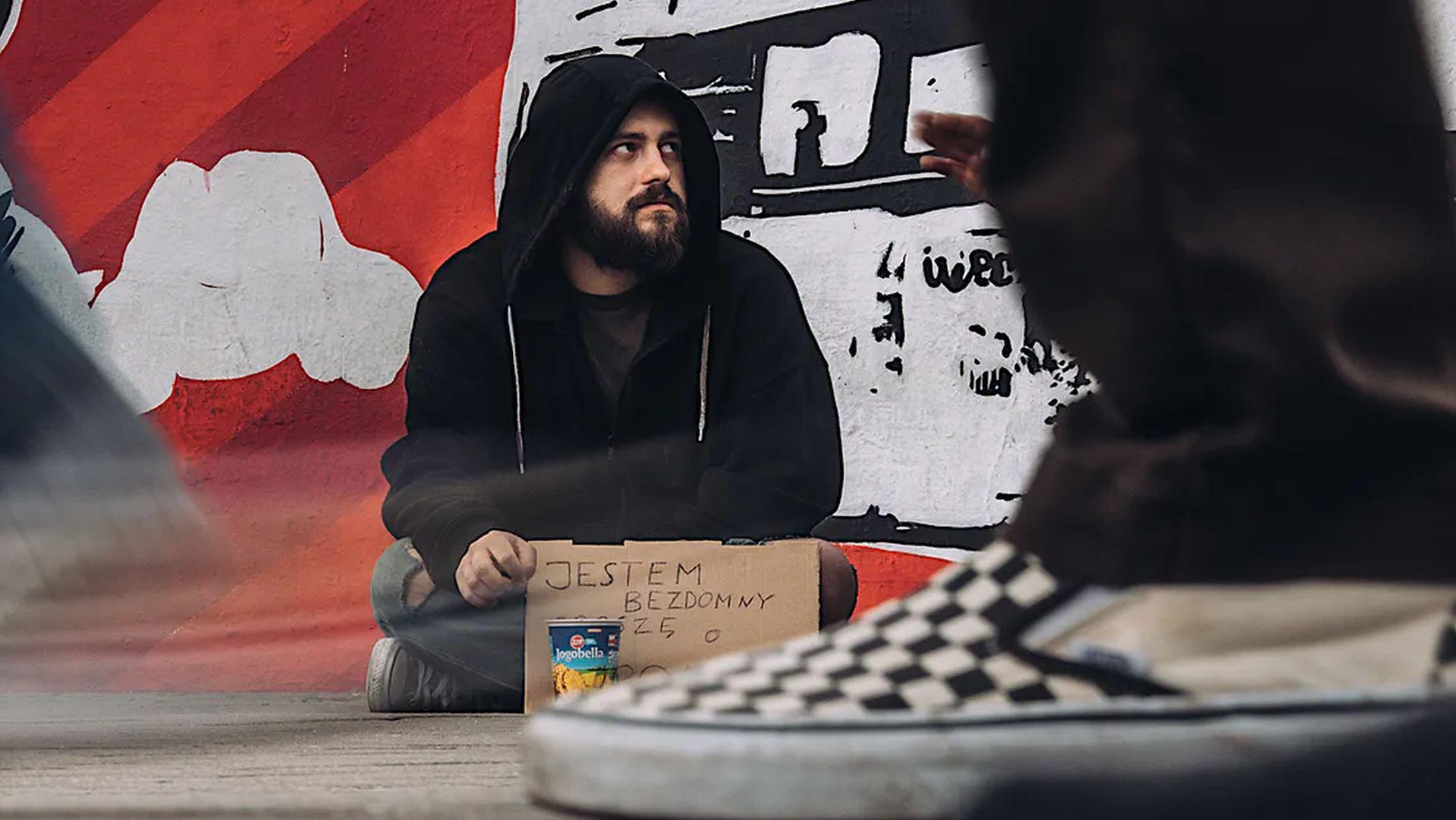 Reporter WP wcielił się w bezdomnego.