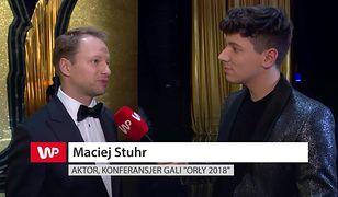 """Maciej Stuhr o polskich Oscarach: """"Stresowałem się, czy moje żarty będą śmieszne"""""""