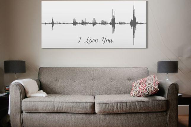 Zobacz, jak pięknie wygląda twój głos... na ścianie