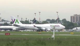 Lotnisko Chopina: Prawie 50 samolotów z kibicami [WIDEO]