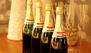 Sylwester z szampanem