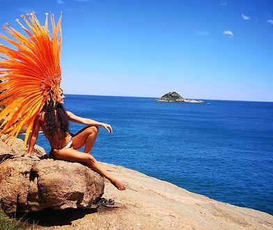 Do Rio poleciała już miesiąc temu. Na sambodromie zatańczy 21 lutego