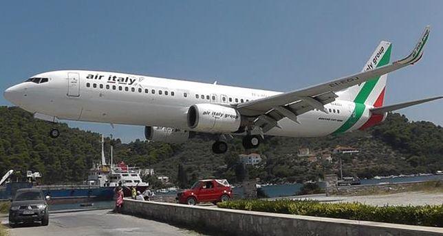 Port lotniczy Skiathos, Grecja