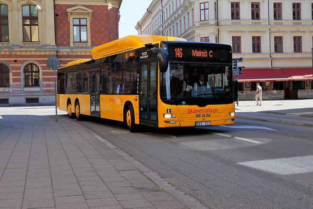 Wydarzenie miało miejsce w autobusie w szwedzkim Malmö