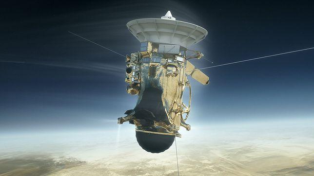 Już niebawem, po 20 latach, sonda Cassini spłonie w atmosferze Saturna