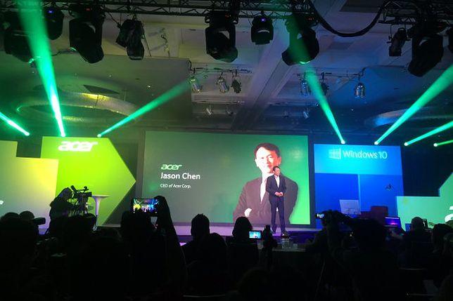 Acer na Tajwanie pokazał jak się robi komputery z Windows 10