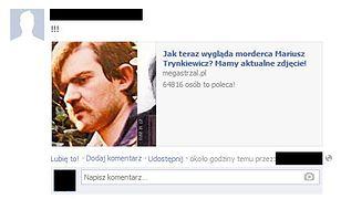 Wiesz jak wygląda Mariusz T.? Oszustwo na Facebooku