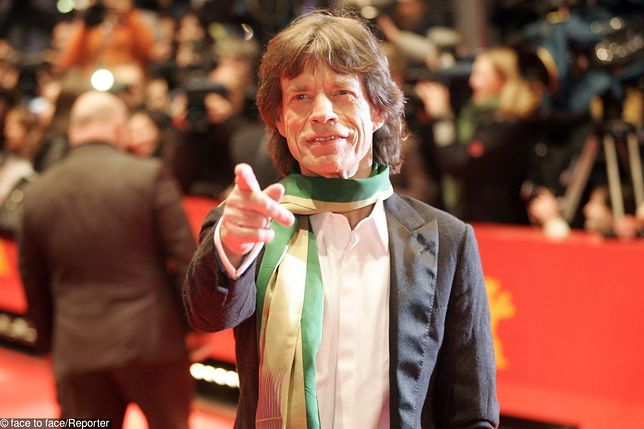 Mike Jagger wsparł ekologów protestujących w Wenecji