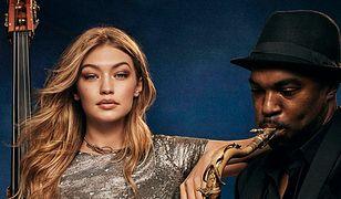 Gigi Hadid w świątecznej kampanii Tommy Hilfiger