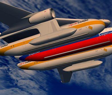 Modułowy samolot przyspieszy podróż. Do doczepianych kapsuł wsiadalibyśmy już na dworcach!