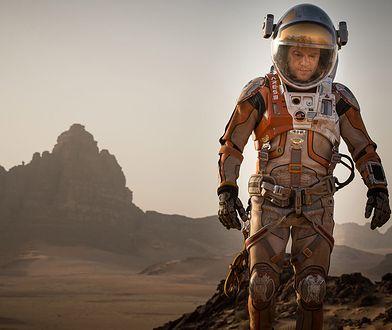 "Matt Damon w filmie ""Marsjanin"""