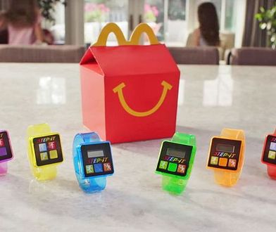 Zestaw Happy Meal w McDonald''s z opaską fitness