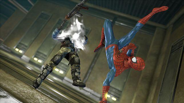 Gry akcji - kadr z gry Spider-Man 2