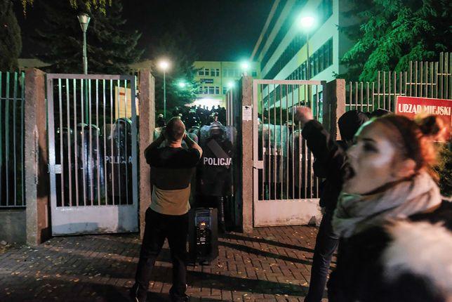Konin protest w sprawie śmiertelnego postrzelenia 21-latka.
