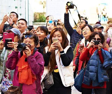 Według danych GUS w I kwartale roku 2017 Polskę odwiedziło o 85 proc. więcej mieszkańców Chin niż w tym samym okresie roku poprzedniego