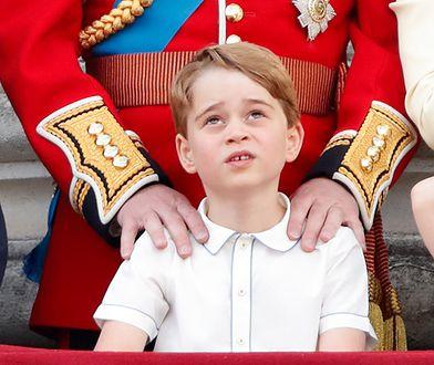 """Książę George tęskni za wujkiem. """"Nie rozumie, dlaczego musiał wyjechać"""""""
