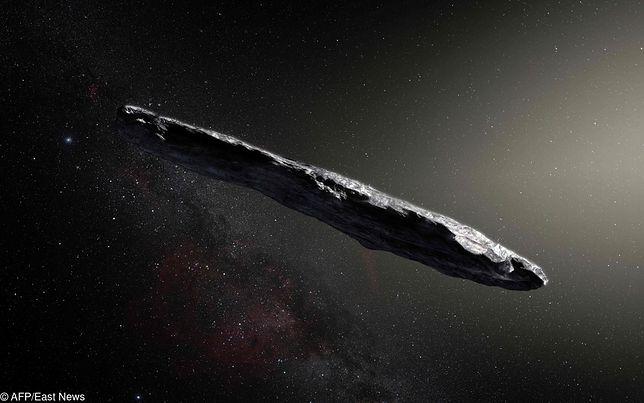 Oumuamua była pierwszym obiektem z przestrzeni międzygwiezdnej
