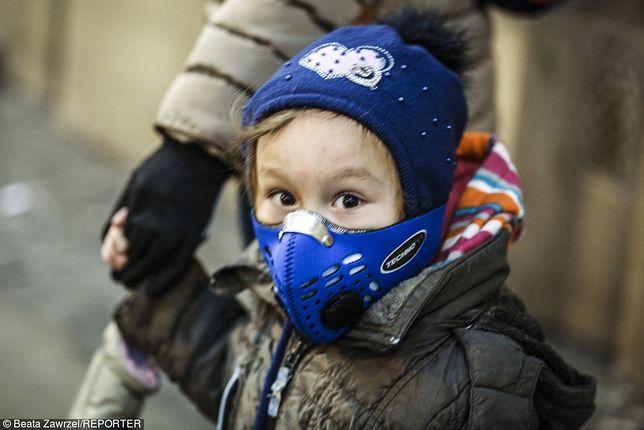 Najmłodsi są najbardziej narażeni na działanie smogu