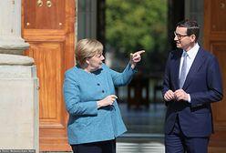 Merkel w Warszawie. Kanclerz Niemiec złożyła wieniec