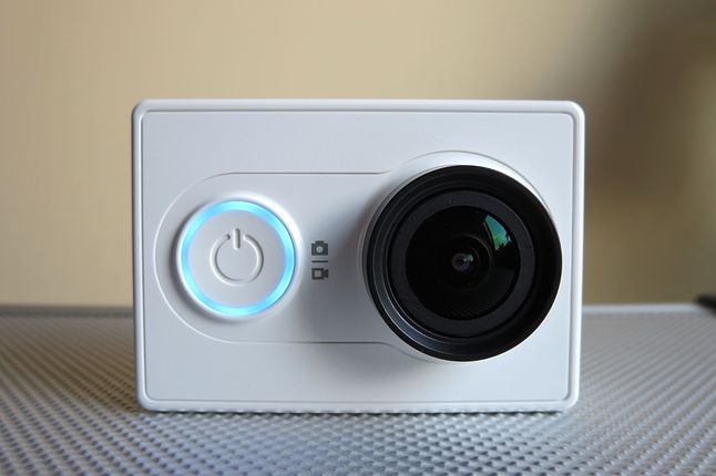 Yi Action Camera z przodu