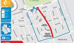 Warszawa. W weekend drogowcy przeprowadzą remont