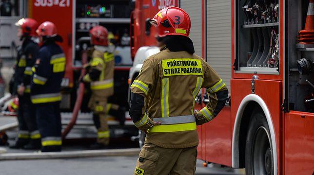 Tragiczny pożar na Jelonkach. Wyskoczył z okna na 2. piętrze (zdj. ilustracyjne)