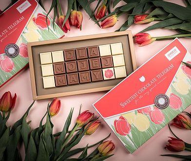 Od kilku do kilkudziesięciu znaków z czekolady - ten telegram to opcja na każdą kieszeń