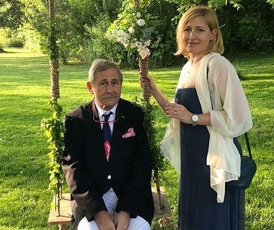 Andrzej Strzelecki z córką Joanną