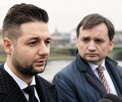 Patryk Jaki i Zbigniew Ziobro z Solidarnej Polski