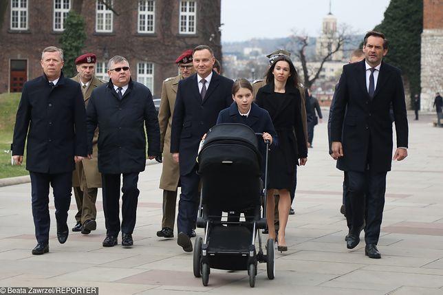Do Krakowa przyjechała także Marta Kaczyńska z dziećmi