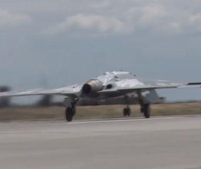 Rosyjska maszyna wzniosła się w powietrze