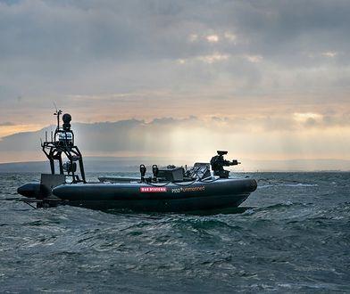 Autonomiczna łódź Pacific 950 opracowywana przez BAE Systems