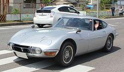Klasyczne Toyoty na paradzie Classic Car Festival