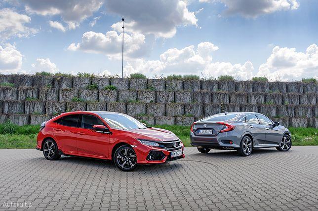 Honda Civic Sedan i Hatchback / fot. Mariusz Zmysłowski