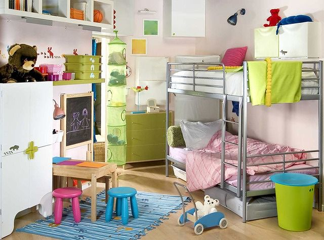 Ściany w małym pokoju dziecięcym
